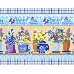 фото Комплект из 3-х кухонных полотенец подарочный ТексДизайн «Вероника, Весна, Весенний букет»