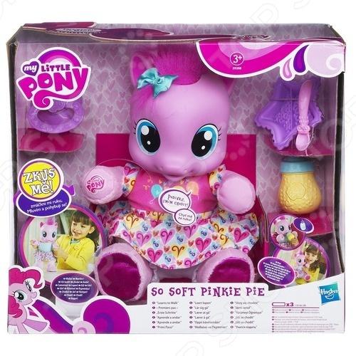 фото Игрушка интерактивная мягкая Hasbro Малютка Пинки Пай, Мягкие интерактивные игрушки