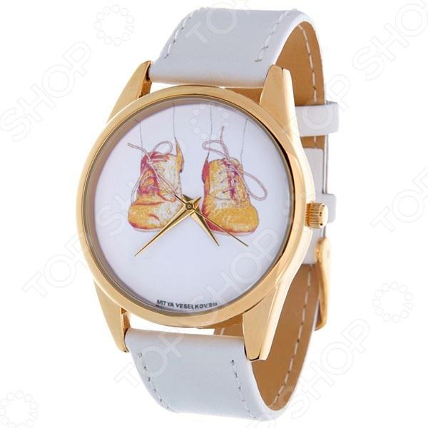 Часы наручные Mitya Veselkov «Ботики» Shine визитница mitya veselkov ботики