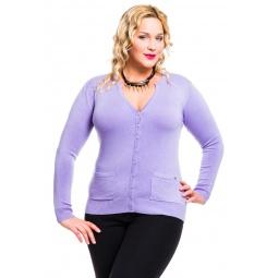 фото Жакет Mondigo XL 9786. Цвет: сиреневый. Размер одежды: 50