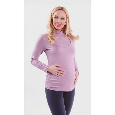 Купить Водолазка для беременных Nuova Vita 1403.04. Цвет: пыльно-розовый