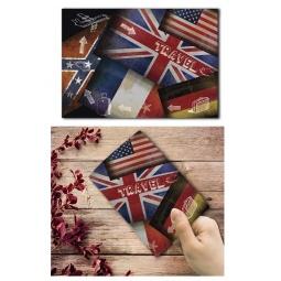 фото Обложка для паспорта Феникс-Презент «Флаги»