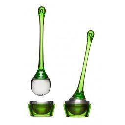 фото Ситечко для чая с подставкой Sagaform Tea. Цвет: зеленый