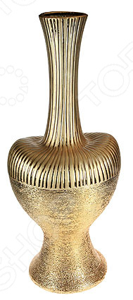 Ваза декоративная 14618Вазы<br>Ваза декоративная 14618 это симпатичная керамическая ваза, которая украсит любой интерьер. Ваза представляет собой не просто подставку для цветов, а настоящее произведение искусства. Она сочетает в себе изысканный дизайн и максимальную функциональность, поможет вам подчеркнуть дизайн помещения, сделать акцент или украсить пустое пространство на полке. Такая ваза будет удачно смотреться как в прихожей, так и в гостиной или спальне. А может вы решили украсить дачу или загородный дом Попробуйте разнообразить интерьер с помощью ваз, в которые можно сразу поставить свежие цветы! Дача преобразится и заиграет новыми красками! Керамика представляет собой прочный материал, который издавна считался одним из лучших для изготовления ваз. Керамика умеет регулировать температуру и накапливать влагу, поэтому ваши цветы не будут страдать от резких перепадов температур в знойные дни. При необходимости вазу такого типа легко очистить с помощью мыльной воды, можете использовать мягкую губку. Этот предмет интерьера может стать хорошим подарком для любой женщины.<br>