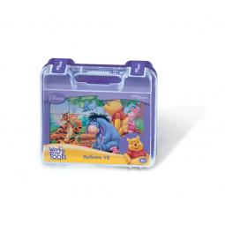 фото Кубики развивающие в чемоданчике Step Puzzle Винни Пух