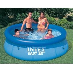 фото Бассейн надувной семейный с фильтр-насосом Intex с28122 Easy Set
