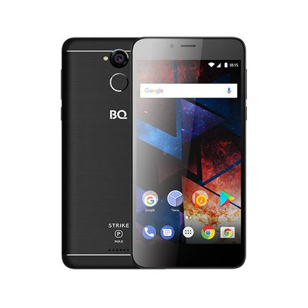 фото Смартфон BQ 5594 Strike Power Max 8Gb. Цвет: черный