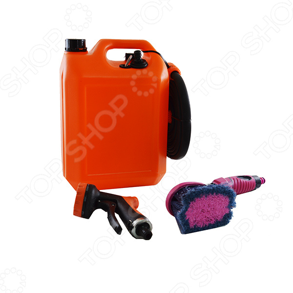 Минимойка «Лонгер-10-форте»Минимойки<br>Минимойка Лонгер-10-форте устройство, при помощи которого вы сможете быстро избавиться от пыли и грязи на разных поверхностях. В основном используется для мойки машины, велосипедов, скутеров, мотоциклов, автомобиля, очистки садовой техники и инструментов, а также садовой мебели, заборов и множества других поверхностей. Шланг высокого давления, позволяет обрабатывать всевозможные поверхности, механизмы и устройства находясь от них на расстоянии. Благодаря малым размерам минимойку можно без труда переносить и хранить. Минимойка состоит из помпы, шланга с коннектором, душа-пистолета, щётки, электрического провода со штекером. Технические характеристики:  мотор-насос должен быть защищён от замерзания и от перегрева выше 50 С.  режим работы продолжительный, максимально допустимое время цикла вкл. выкл. 30 мин.  питание постоянный ток.  напряжение 12 В.  потребляемый ток 2,9 А.  плавкий предохранитель на 5 А.  температура воды до 45 С, использовать только чистую воду.  длина шланга 4 м.  длина провода электропитания 4 м.  душ-пистолет 7 режимов струи.  мягкая щетка с регулятором расхода воды.<br>