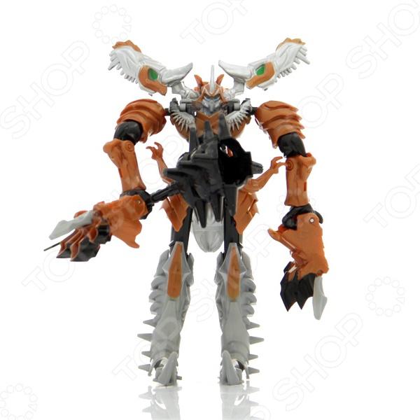 Робот-трансформер Shantou Gepai «Дракон» 89442 5Роботы и трансформеры<br>Робот-трансформер Shantou Gepai Дракон 89442 5 это детализированная фигурка, которая представляет нам популярного персонажа, который понравится не только детям, но и фанатам серии любого возраста. Насыщенные цвета игрушки привлекут внимание ребенка и позволят надолго погрузиться в игру. Игра с фигуркой развивает мелкую моторику рук, фантазию и пространственное мышление. При желании ребенок сможет сформировать из робота дракона.<br>