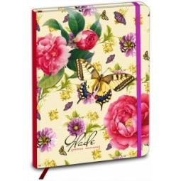 фото Дневник школьный Проф-Пресс «Узор цветов и бабочек»