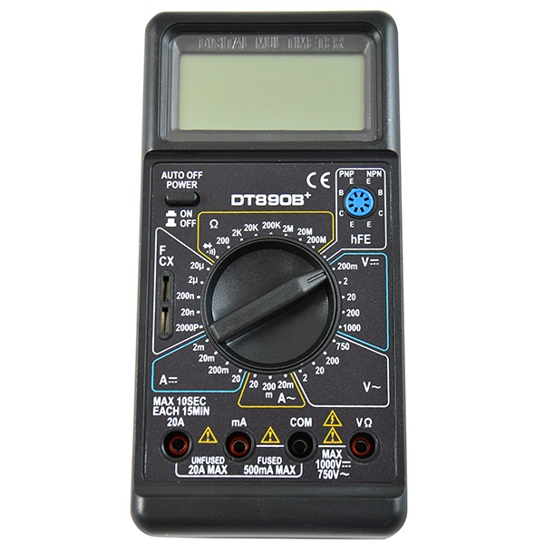 Мультиметр Ресанта DT 890 B+ мультиметр ресанта dt 181