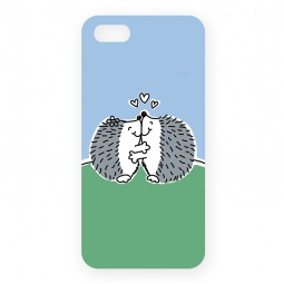 Купить Чехол для iPhone 5 Mitya Veselkov «Влюбленные ежики»