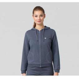 фото Толстовка домашняя женская BlackSpade 5720. Цвет: антрацит меланж. Размер одежды: XL