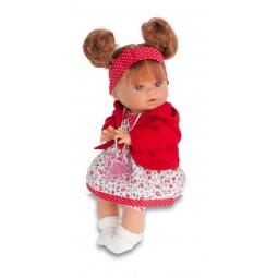 фото Кукла интерактивная Munecas Antonio Juan «Кристи». Цвет: красный