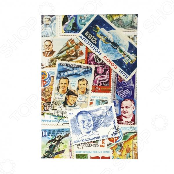 Обложка для автодокументов Mitya Veselkov «Космос (марки)»