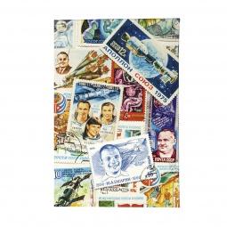 фото Обложка для автодокументов Mitya Veselkov «Космос (марки)»