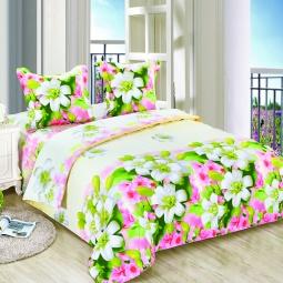 фото Комплект постельного белья Amore Mio Veselie. Poplin. 2-спальный