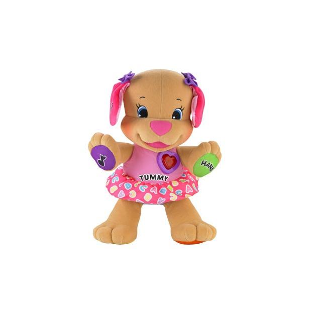фото Мягкая игрушка интерактивная Fisher Price Сестричка ученого щенка