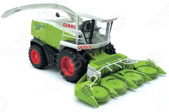 Машинка игрушечная Bruder «Комбайн» Claas JAGUAR 900 bruder комбайн 02 119 claas lexion 780