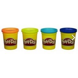 фото Набор пластилина Hasbro Play-Doh «Классические цвета». Цвет: голубой, салатовый, оранжевый, синий