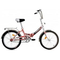 фото Велосипед Larsen Jet. Цвет: красный