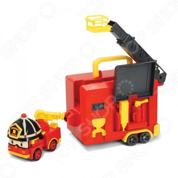 Кейс с трансформером Poli с гаражом «Рой» алексеев с т рой
