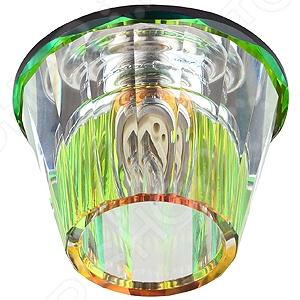 Светильник декоративный потолочный Эра DK43 MIX/WHСпоты встраиваемые<br>Светильник декоративный потолочный Эра DK43 MIX WH это изящный и стильный светильник, который способен ярко освещать целую комнату. Модель предназначена для людей, желающих создать дома атмосферу уюта и тепла, а быт сделать более комфортным. Потолочный светильник идеально подходит для помещений с низким потолком, поскольку занимает совсем немного места. Вы можете использовать его как единственный источник света или сочетать с выполненными в той же стилистике декоративными светильниками, создав в комнате необходимую атмосферу. Выполненный из разноцветного хрусталя светильник Эра DK43 MIX WH, можно разместить в гостиной, зале или спальной комнате. Также подойдет в качестве источника света в местах общественного питания. Современный стиль и универсальная цветовая гамма изделия придадут любому помещению еще большей гармонии, эмоциональной наполненности и добавят нотку романтичности. Общая мощность светильника составляет 40 Вт и этого достаточно, чтобы осветить до 2 кв.м пространства. Рекомендуется использовать 1 галогенную лампу мощностью 40 Вт цоколь G9 . Степень защиты электротехнического оборудования: IP20.<br>
