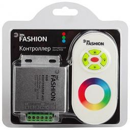 Купить Контроллер для светодиодной RGB-ленты с пультом ДУ Эра RGB controller-12-A02-RF