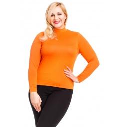 фото Водолазка Mondigo XL 036. Цвет: оранжевый. Размер одежды: 52