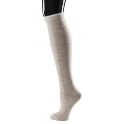 фото Носки женские Teller Wool High Knee-Socks. Цвет: бежевый