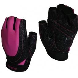 фото Перчатки для фитнеса Atemi AFG-06. Цвет: розовый, черный. Размер: L