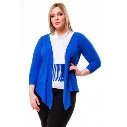 фото Кардиган Mondigo 1466. Цвет: синий. Размер одежды: 48