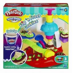 фото Набор пластилина Play-Doh Фабрика печенья