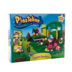 фото Набор пластилина игровой Plastelino «Садовод»