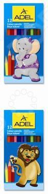 Набор карандашей цветных ADEL Colour 211-2315-000