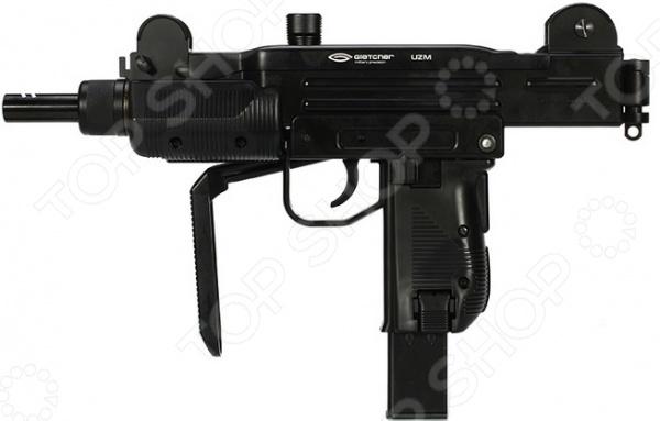 Пистолет-пулемет пневматический Gletcher UZMПневматическое оружие<br>Пистолет-пулемет пневматический Gletcher UZM надежное оружие, воссозданное на основе легендарной модели и сохранившее все ее размерные характеристики и параметры. Пистолет оснащен подвижным затвором система Blowback, обеспечивающая движение затвора для имитации отдачи и скрытым поджимным винтом баллона. Пистолет оснащен двумя предохранителями автоматическим и ручным, перекидным диоптрическим целиком, регулируемой мушкой и складывающимся прикладом. Наличие системы Double Action ударно-спусковой механизм двойного действия обеспечивает выстрел как самостоятельным взводом, так и с помощью предварительного взведения курка. Режимы стрельбы: автоматический одиночные выстрелы. Емкость магазина 24, начальная скорость пули 100м с, дульная энергия 3 Дж. Материал металл.<br>