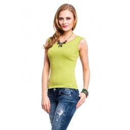 фото Майка Mondigo 326. Цвет: зеленый. Размер одежды: 44
