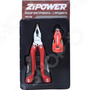 Инструмент многофункциональный Zipower PM 5108 ролевые игры smoby инструмент многофункциональный 5 в 1 тачки 2