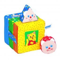 фото Мягкая развивающая игрушка Мякиши «Кошки-мышки» 02449. В ассортименте