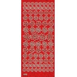 Купить Контурные наклейки JEJE «Переливающиеся цветы»