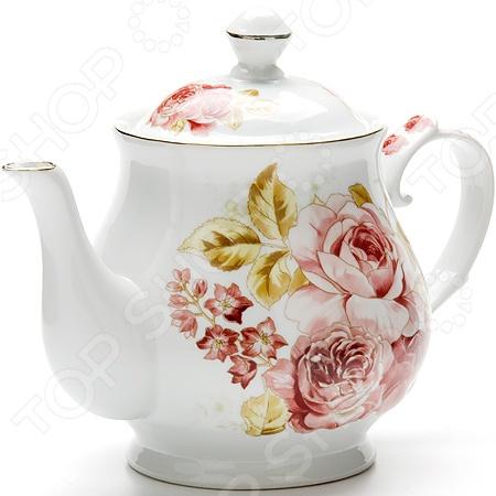 Чайник заварочный Loraine LR-24578 чайник заварочный loraine lr 23768 0 7л белый с рисунком ромашки