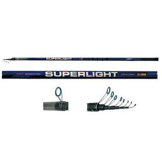 Купить Удилище телескопическое с облегченными кольцами Atemi Superlight HMC