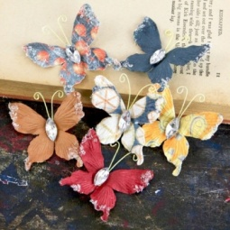 Купить Бабочки бумажные Prima Marketing PM-562250