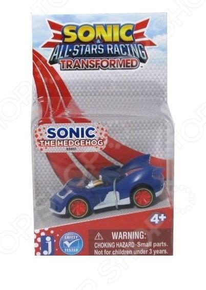 Игрушка-фигурка Sonic Соник в машине sonic boom t22002 соник бум фигурка наклз 7 5 см