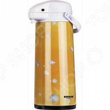 Термос с помпой Bekker BK-4017. В ассортименте термос bekker premium bk 4075 0 8л
