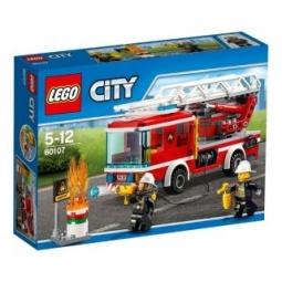 Купить Конструктор игровой для ребенка LEGO «Пожарный автомобиль с лестницей»