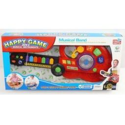 фото Электрогитара игрушечная Shantou Gepai «Happy Game 3 в 1»