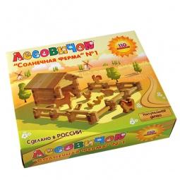 Купить Конструктор деревянный Лесовичок «Солнечная ферма №1»