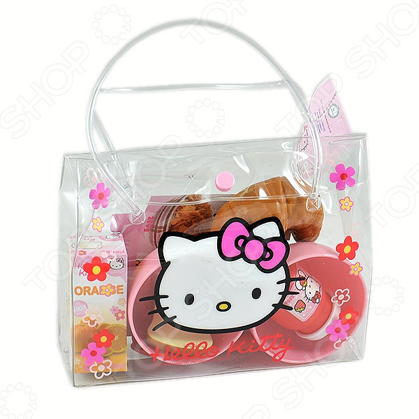 Набор для завтрака Smoby Hello Kitty smoby кукла эмма 54 см smoby hello kitty