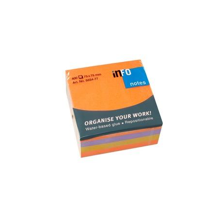 Купить Блок-кубик для записей Info Notes 5654-77